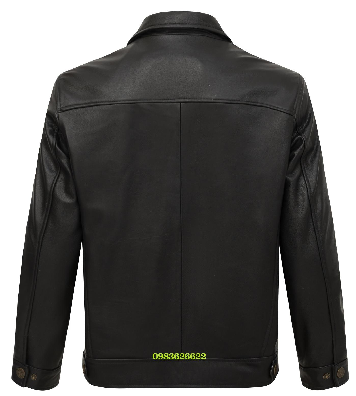 áo khoác da bò